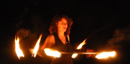 Lilian firehoop