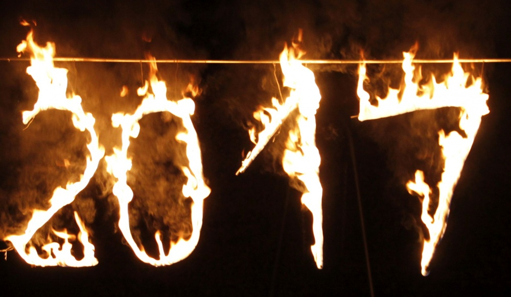 Unsere brennende 2017